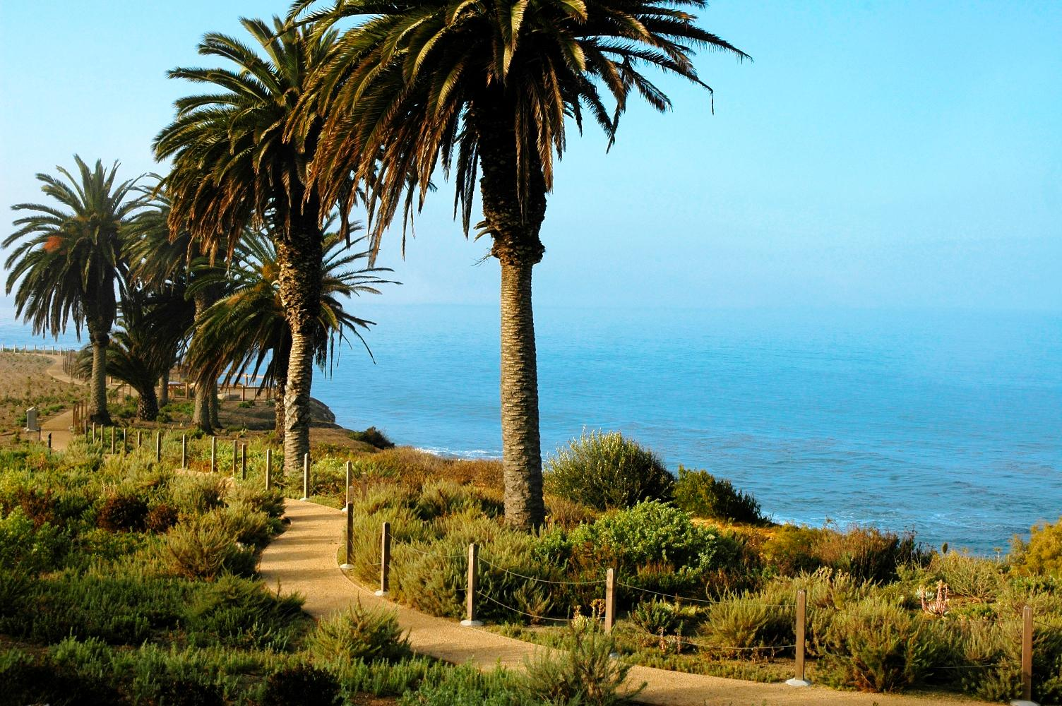 Coastal walking trails