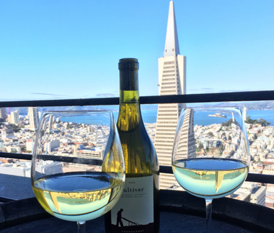 Weekend Wine down on the Sky Deck - complimentray local wine from 5pm - 6pm every Friday and Saturday