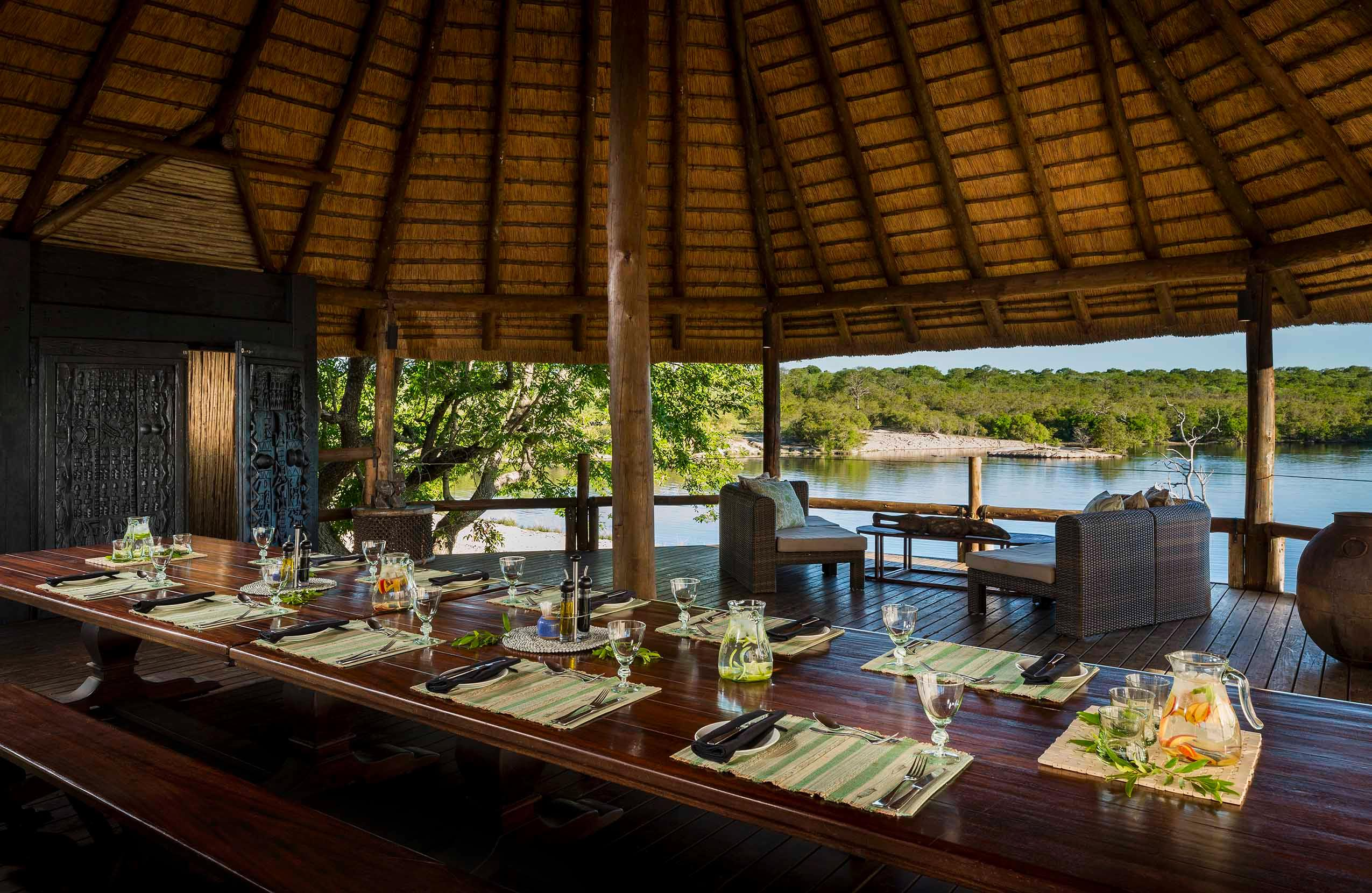 Safari Lodge-Treehouse Suite Deck - lunch