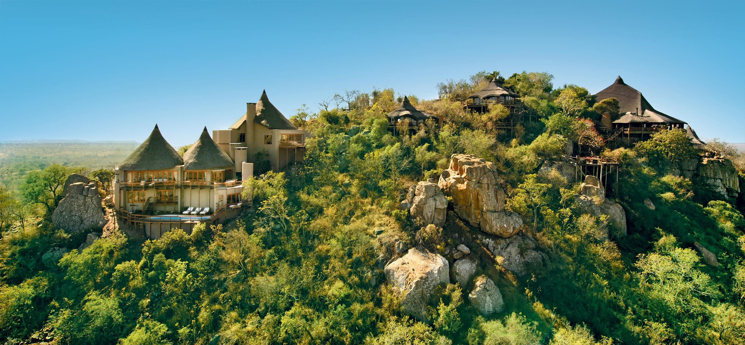 Ulusaba Rock Lodge-Aerial