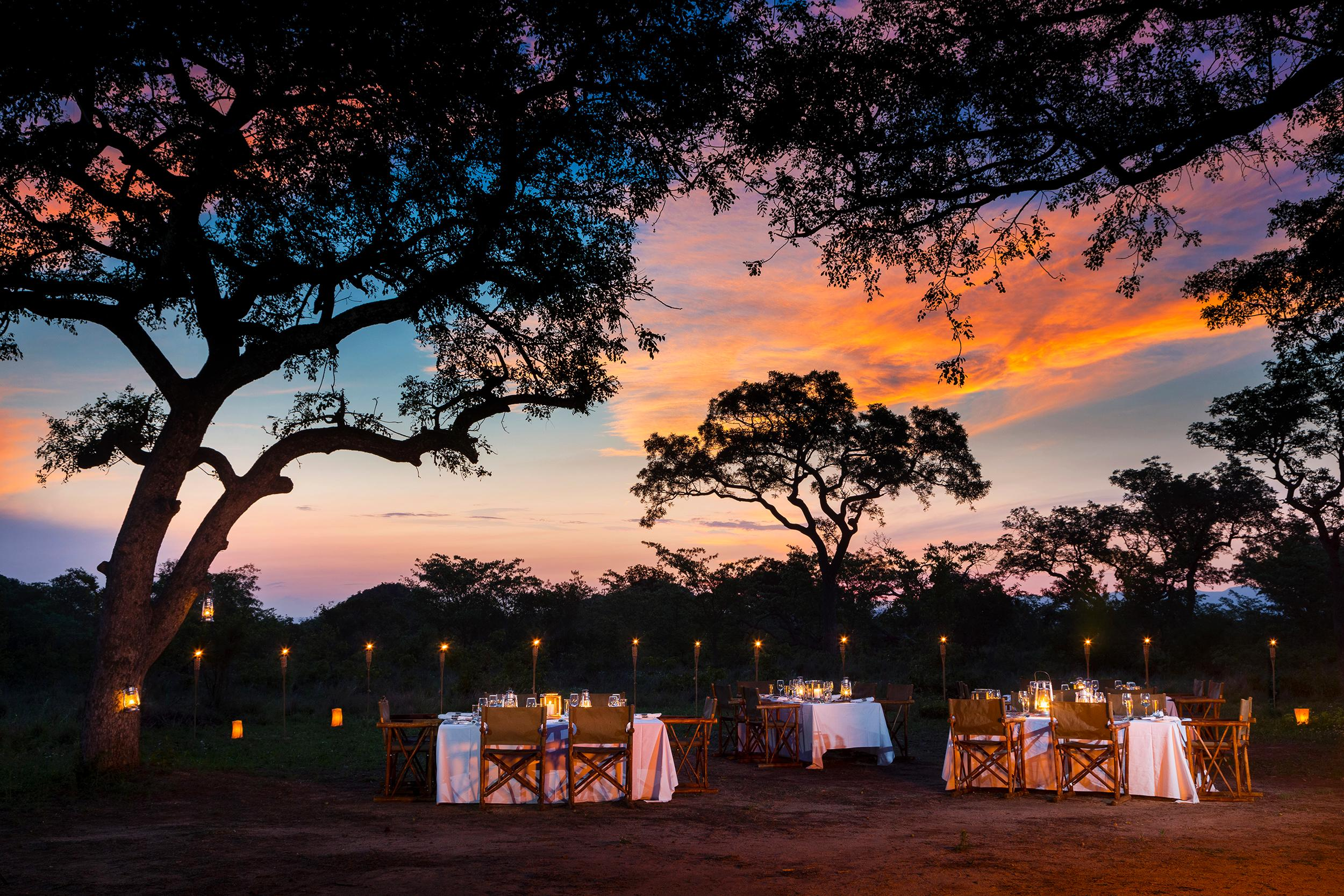 Ulusaba Bush Dinner 2