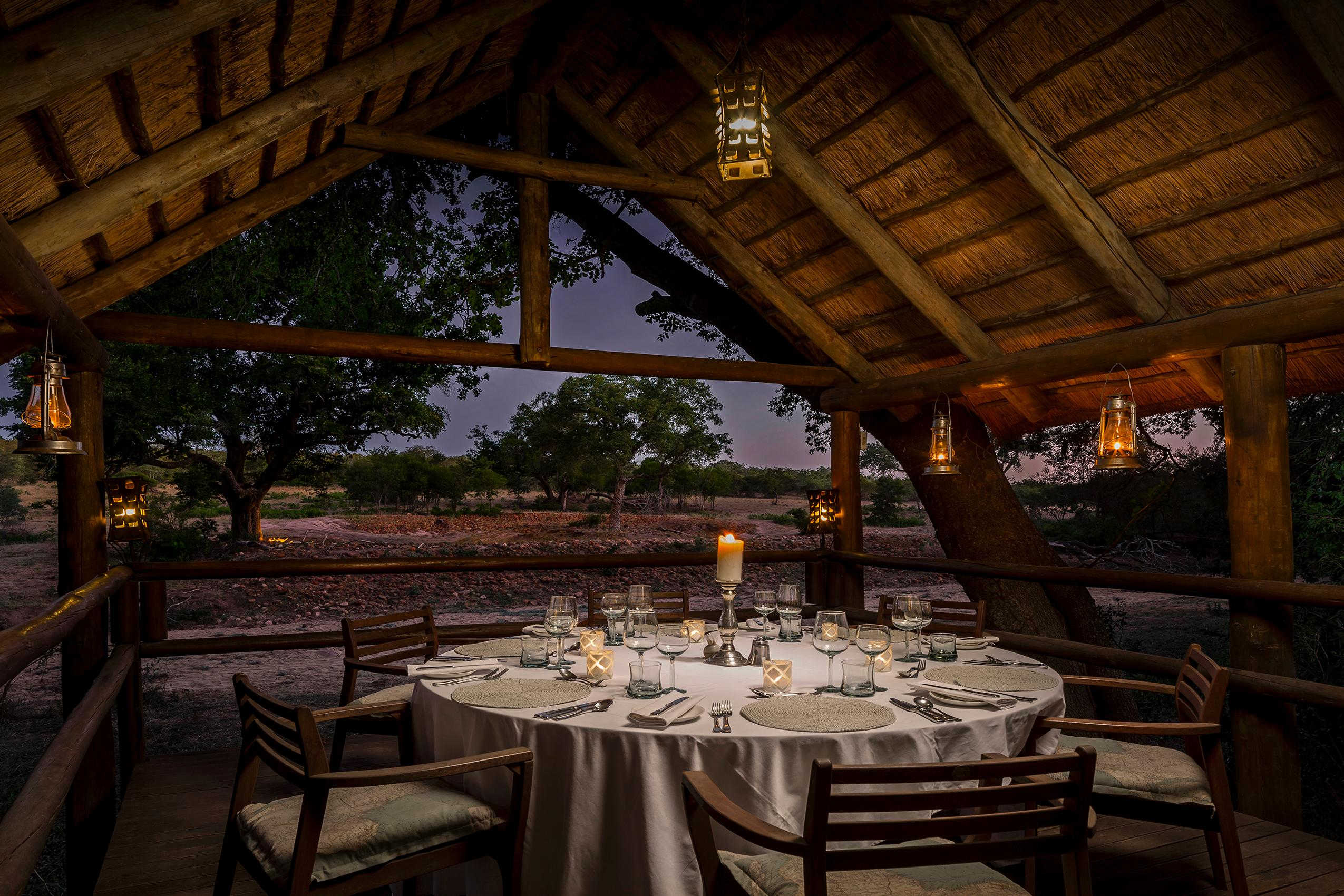 Safari Lodge private dining