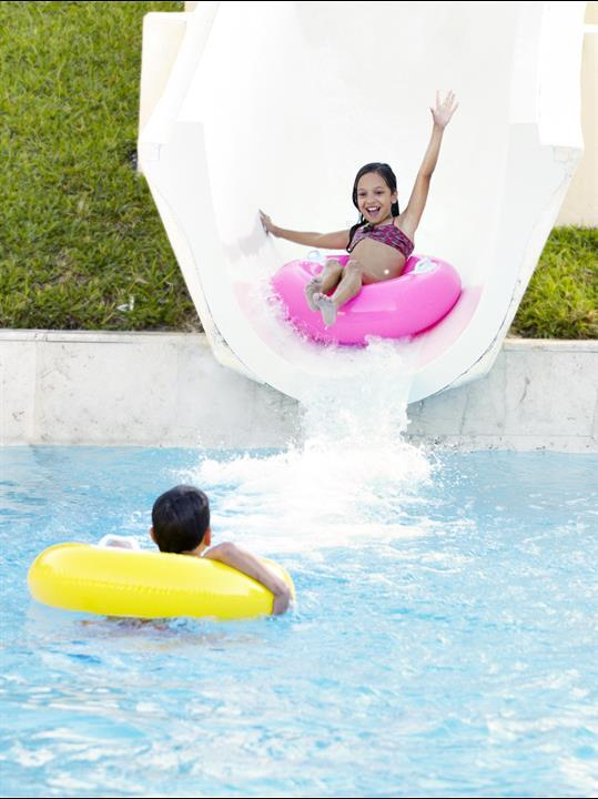 Family Pool Water Slide