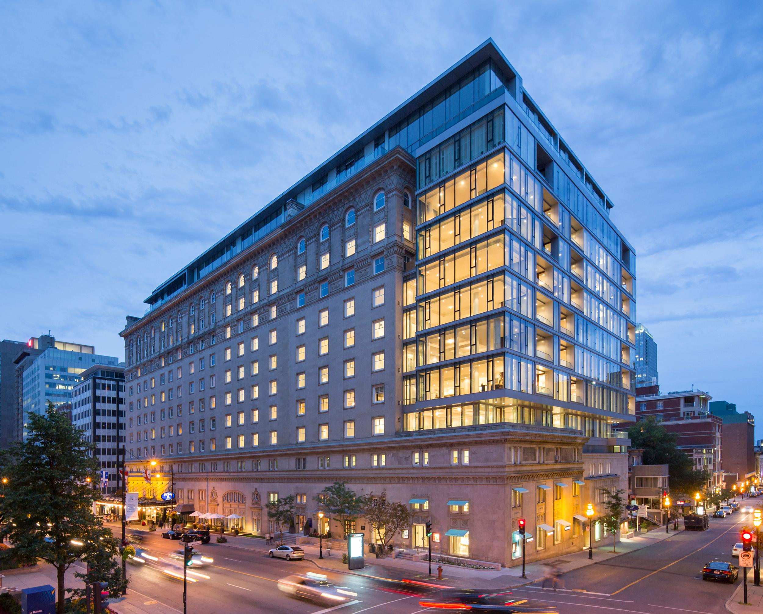 Downtown Montreal Luxury Hotel
