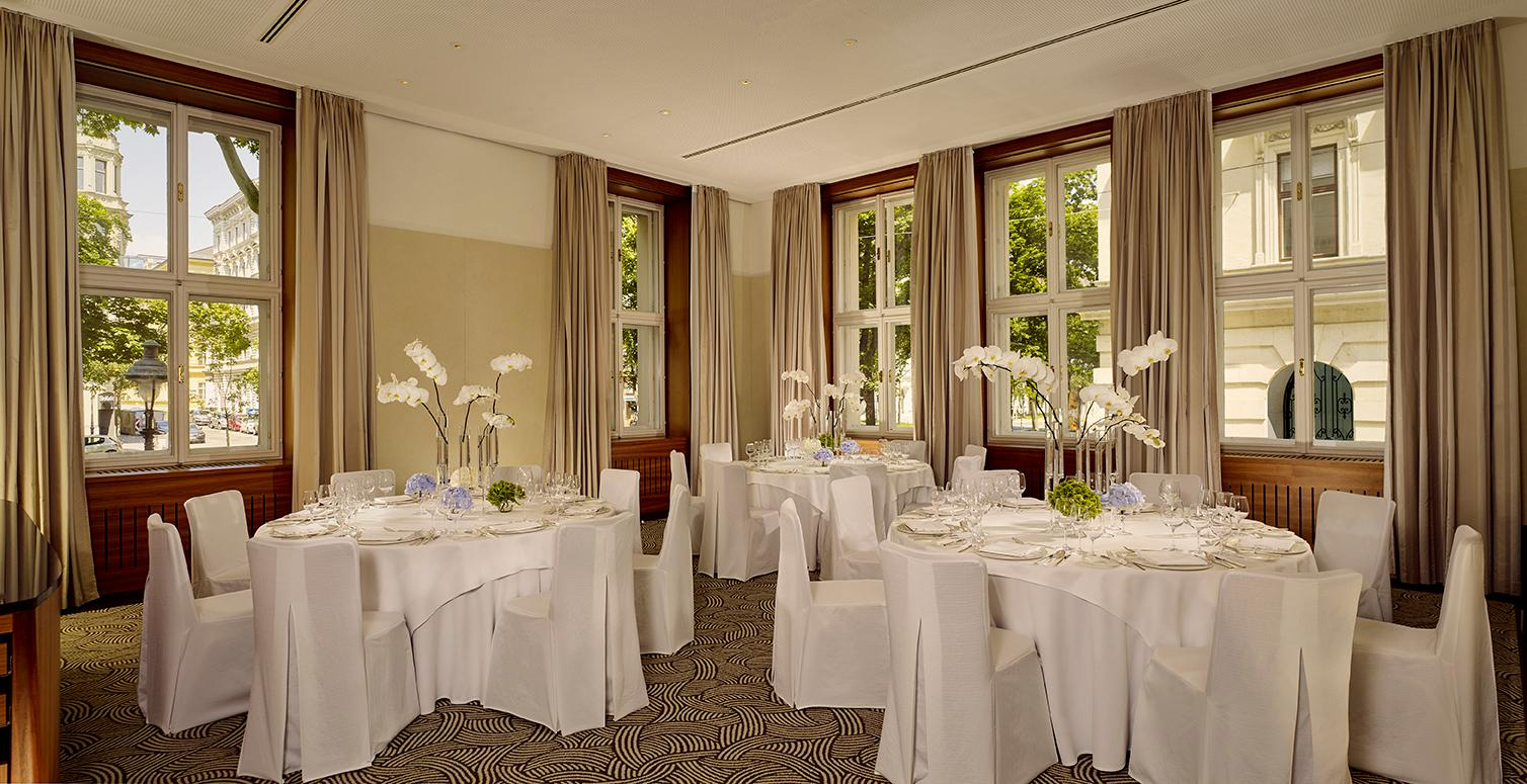 Crafting moments in taste within the elegant event spaces of The Ritz-Carlton, Vienna