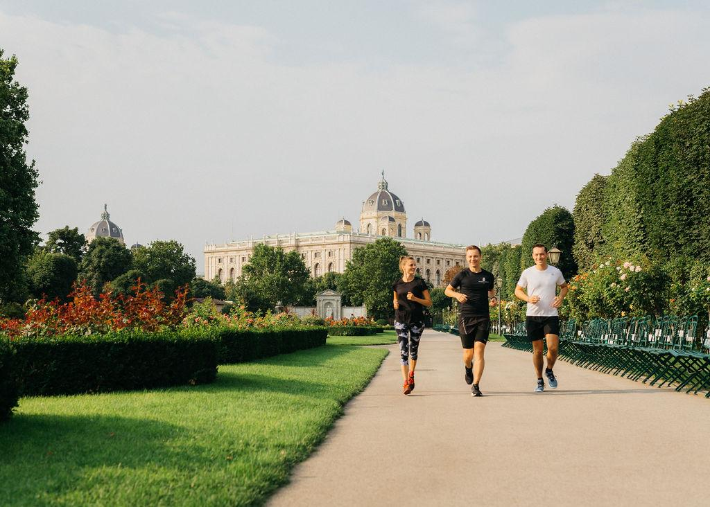 Pound the streets with a running concierge of The Ritz-Carlton, Vienna