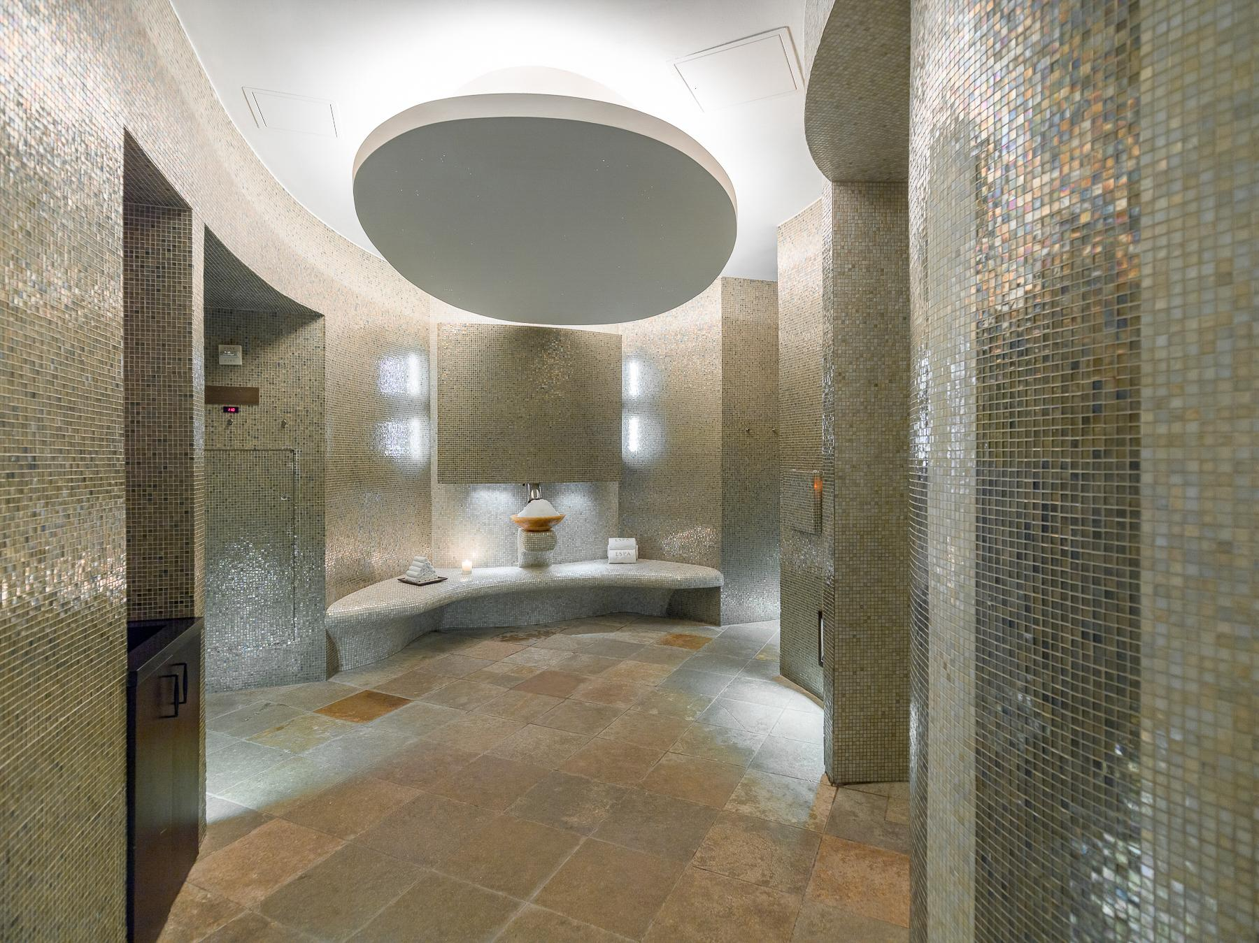 Heat Experience Area - Acqualina Spa by ESPA