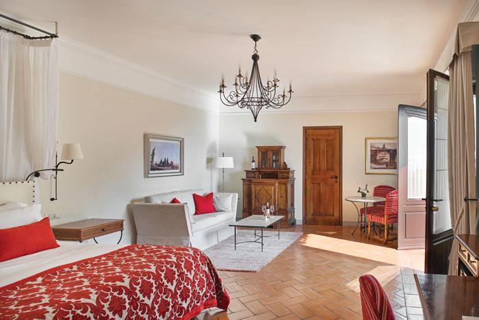 One of our spacious junior suites
