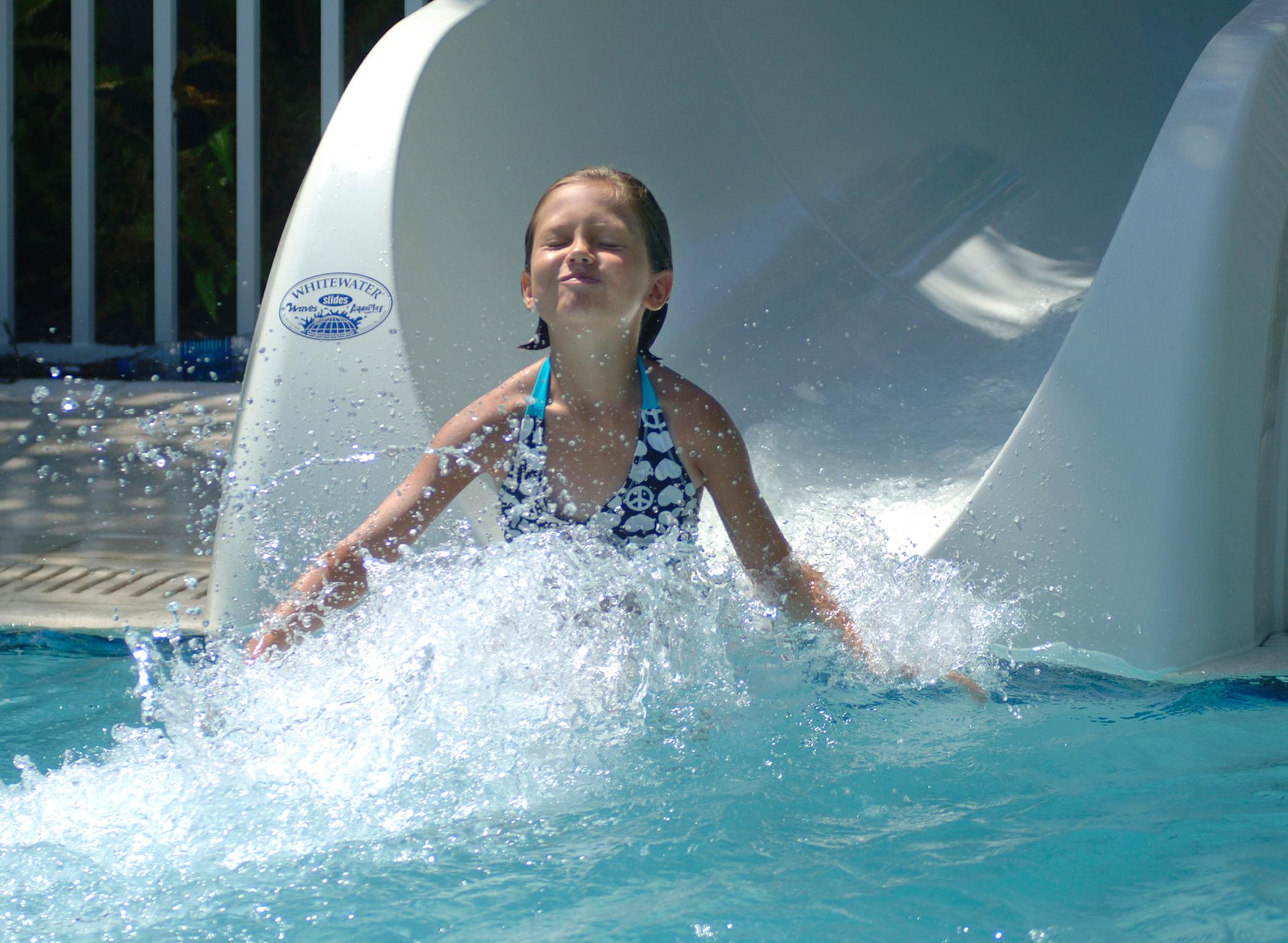 H2Whoa! water slides will keep you and your kids entertained for hours.