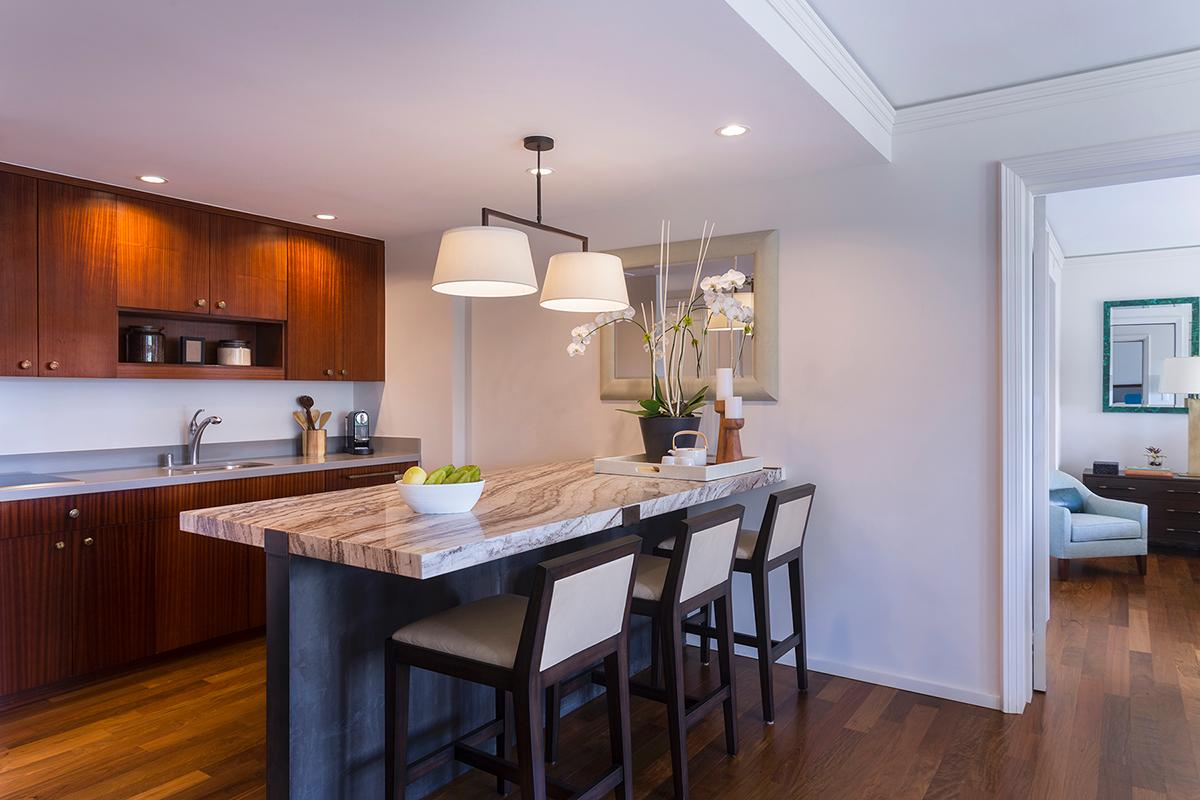 Residential Suite Kitchen Area