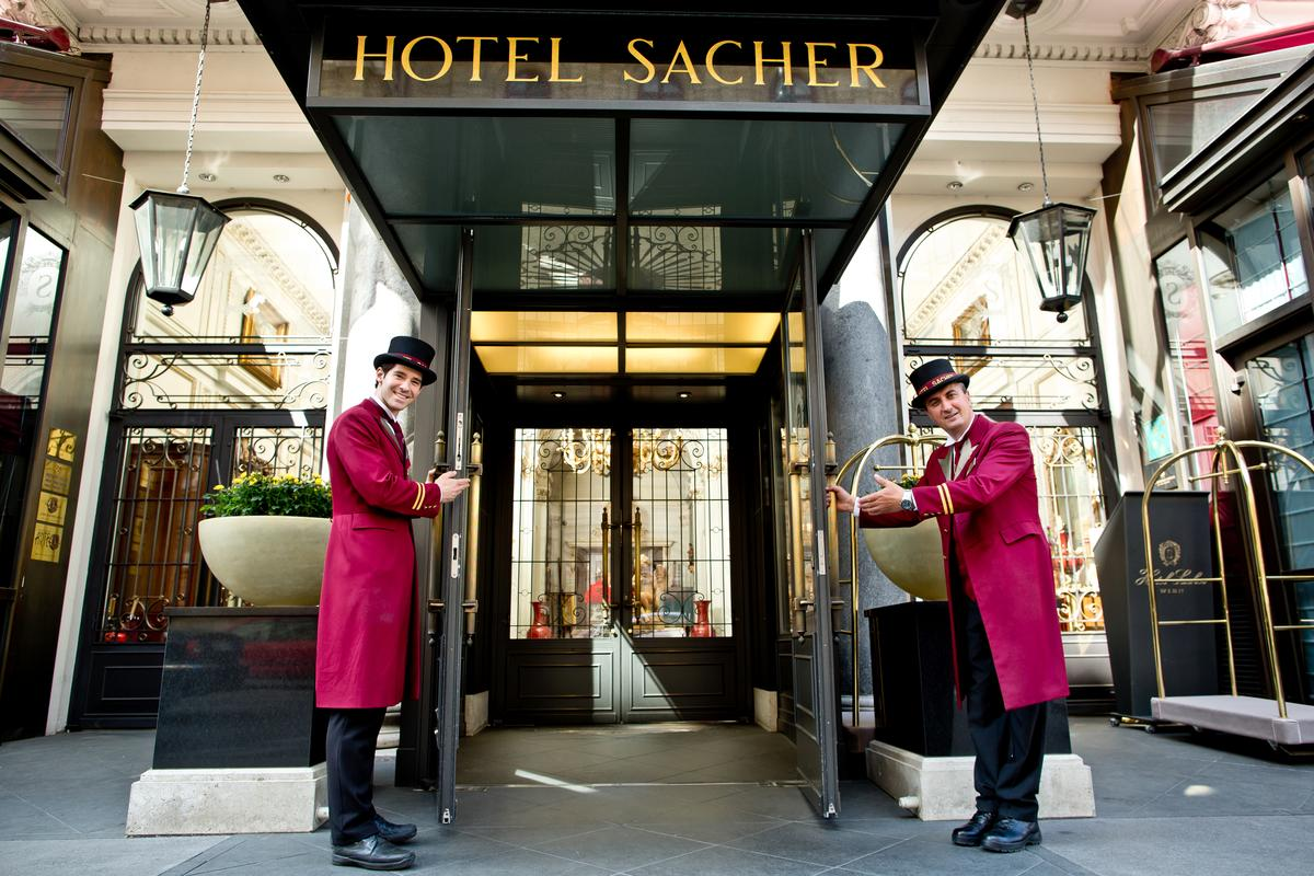 Welcome to Hotel Sacher Wien!