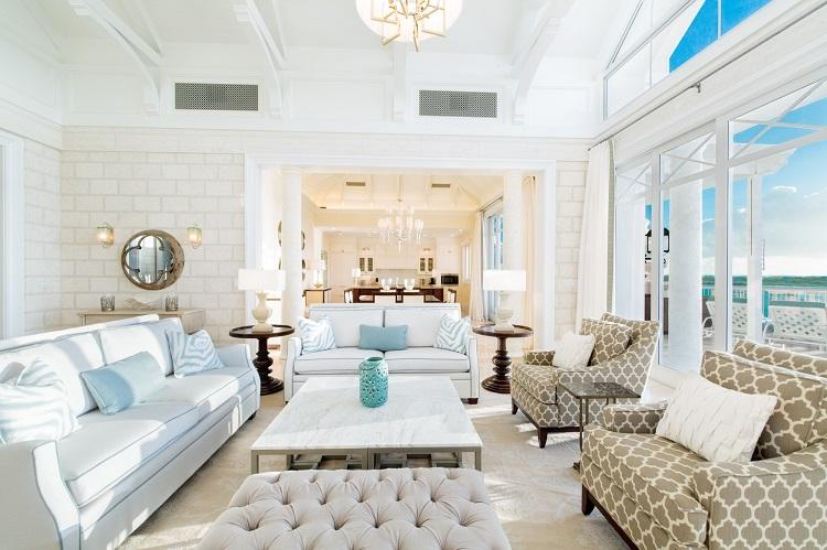 The Shore Club - Executive Penthouse - Living Room