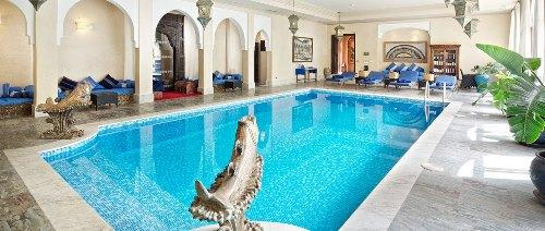 Kasbah Tamadot - Indoor Pool