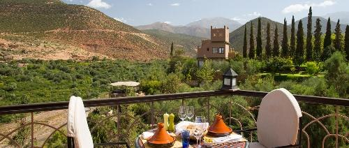 Kasbah Tamadot - Pool Terrace - Lunch
