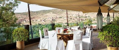 Kasbah Tamadot - Asmoun Terrace - Lunch