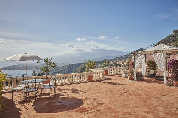 Spectacular terrace of our Presidential Suite