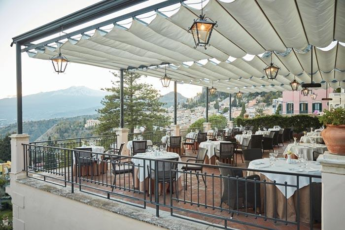 Timeo Restaurant terrace