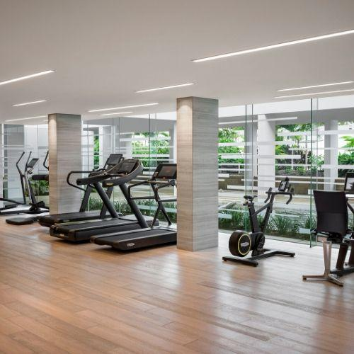 State-of-the-art gym facilities