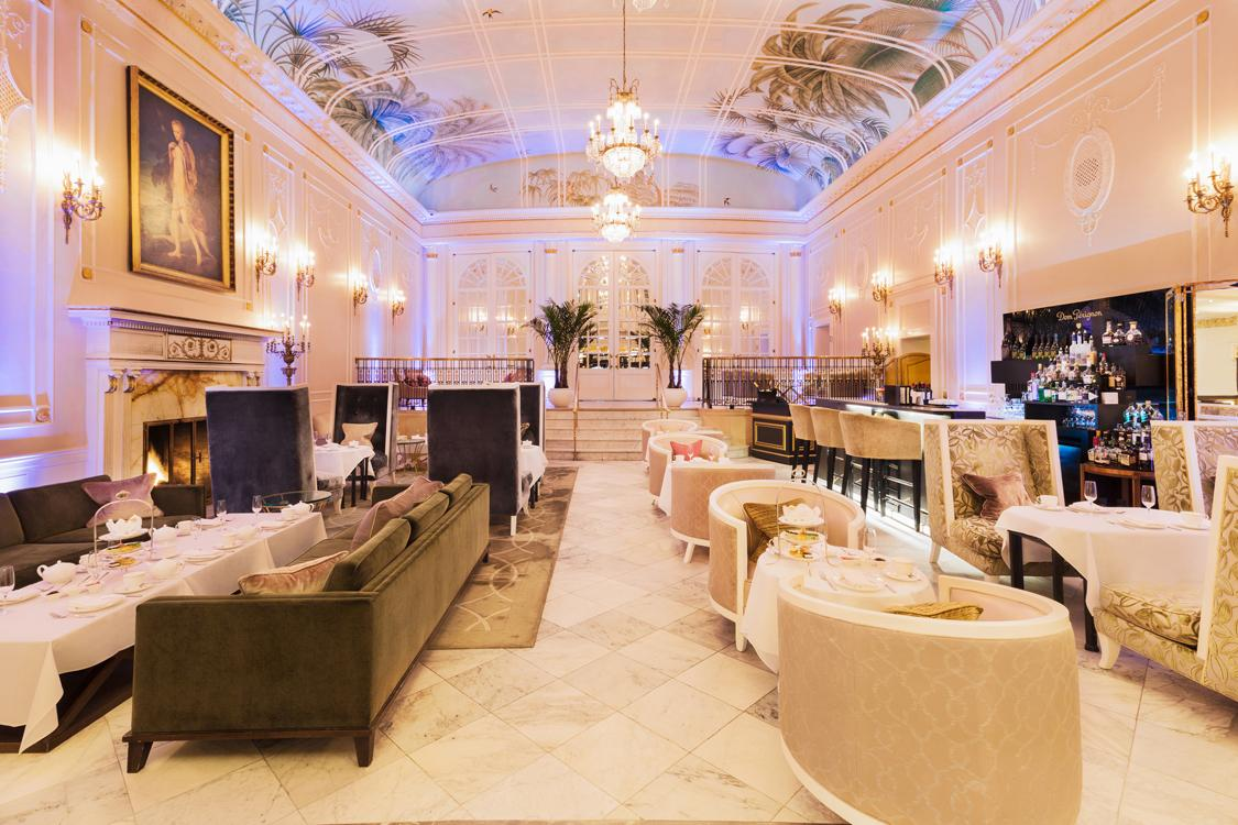 The Palm Court home of the Dom Perignon Bar