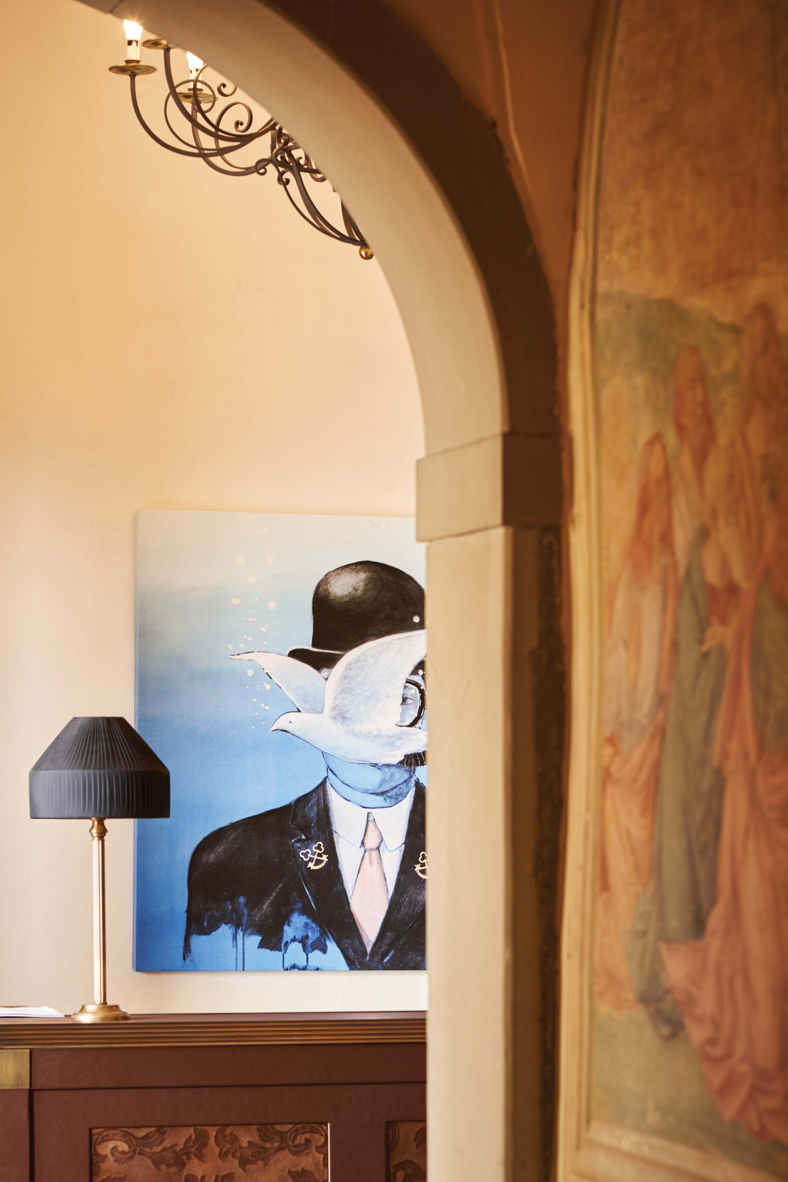 Street art and Renaissance blend in perfection at Belmond Villa San Michele
